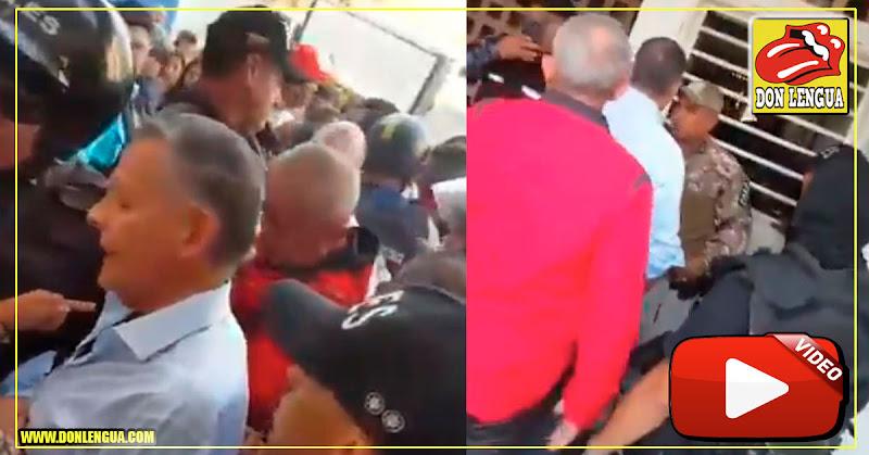 José Vicente Rangel Ávalos se enfrentó al FAES en un operativo policial