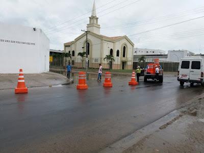 SAJ: Prefeitura trabalha para amenizar os efeitos causados pela chuva