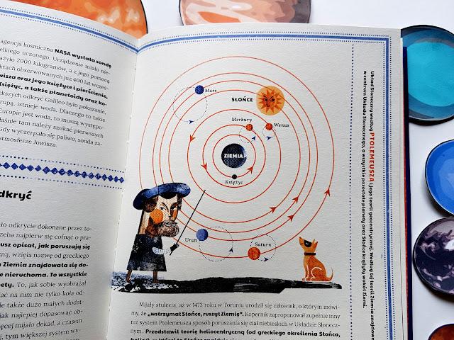 Niesamowity Wszechświat - Nasza Księgarnia - książeckzi dla dzieci - książki o kosmosie - Karolina Bąkowska - Asia Gwis