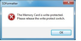 HOW TO WRITE PROTECT YOUR USB/SD CARD