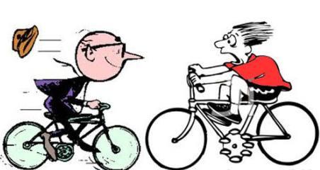 Clipart dan gambar animasi sepeda antik unik SI MOMOT