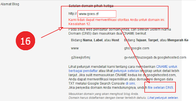 Download file setelan dns