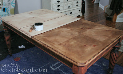 Pretty Distressed The Making Of A Farmhouse Table