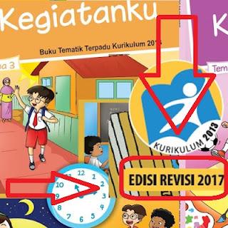 Buku Kurikulum 2013 Kelas 4 SD/MI Revisi 2017 Lengkap