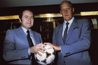 Sepp Blatter et Joao Havelange