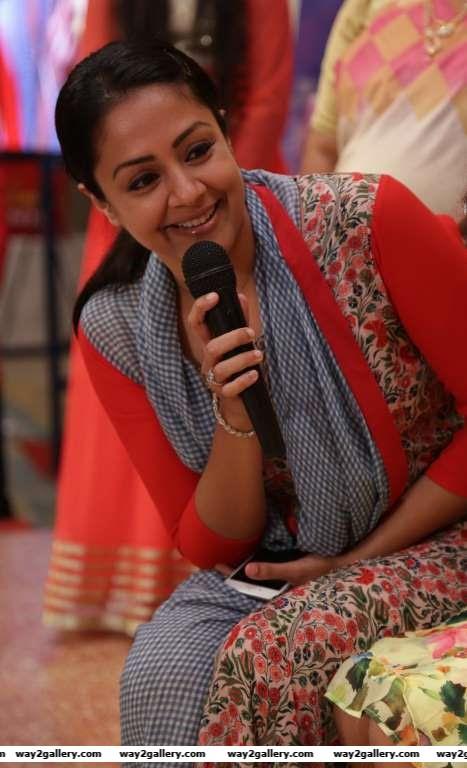 Jyothika was among the celebrities at Syamantakamani Ashvikas birthday bash