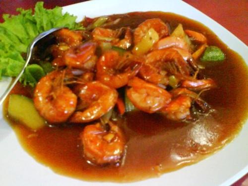 Cara memasak resep udang asam manis lezat mantap