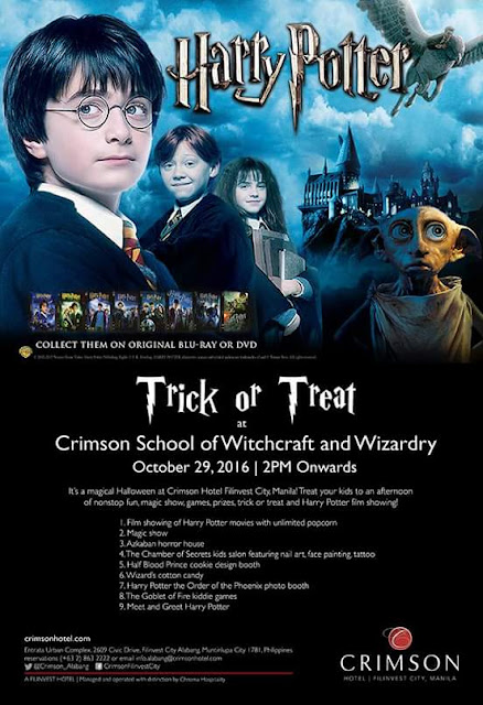 2016 List of Halloween Trick or Treat Events for Kids in Metro Manila
