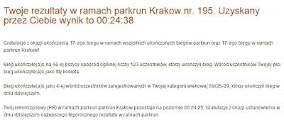 Parkrun Kraków