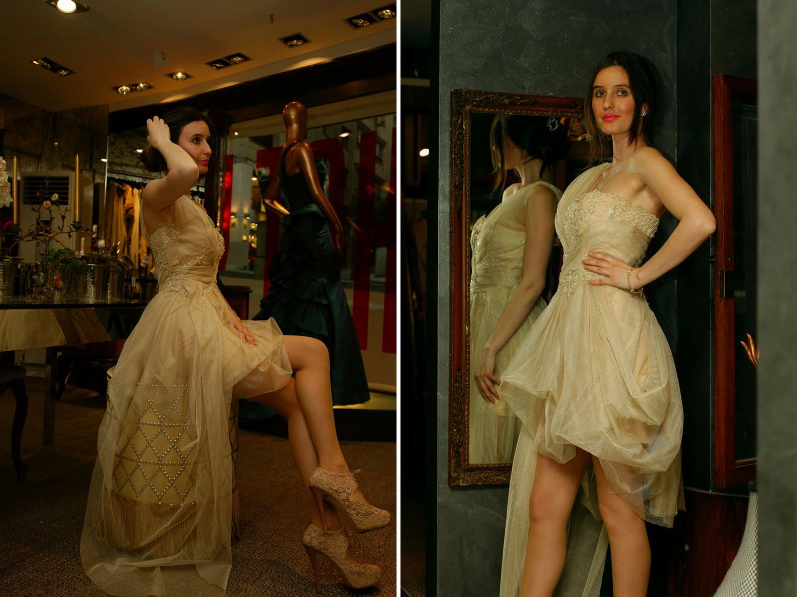 334f26b6d425a Bal rengi elbise en birinci favorim:) Eteği kısa olduğu için mobilitesi  yüksek, asimetrik kuyruğu sayesinde ise uzun tuvaletler kadar gösterişli.