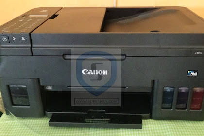 Cara install printer canon Pixma G4010 Series Tanpa CD