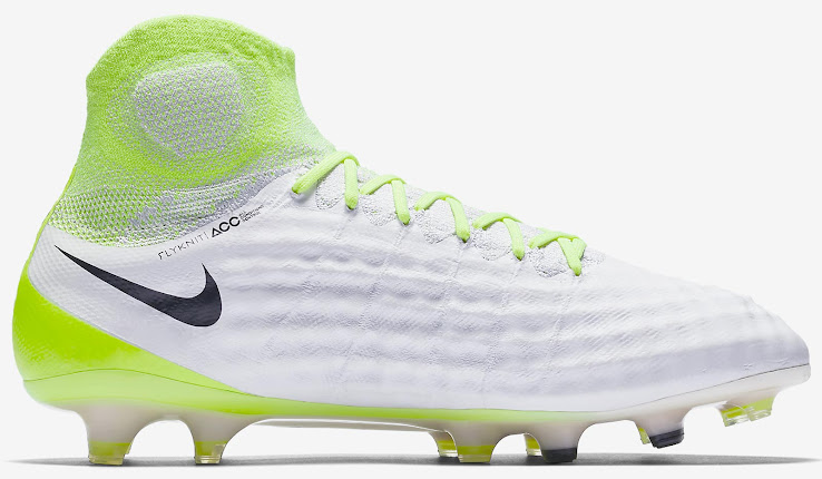 best service 0acde 09c0a White & Volt Nike Magista Obra II 2017 Boots Released - CR7 Gold
