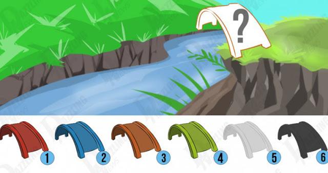 Психологический тест: в какой цвет вы бы покрасили мост?