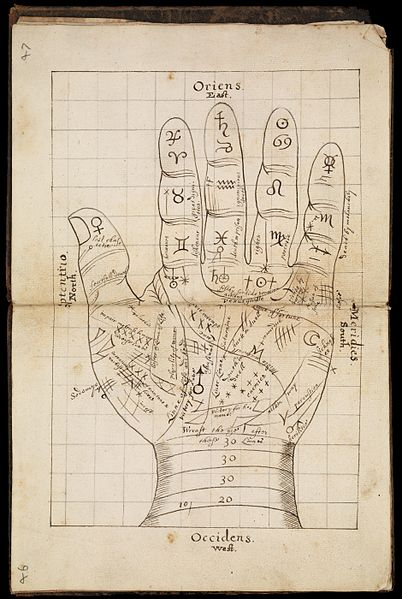 Palmistry, palm reading, chiromancy