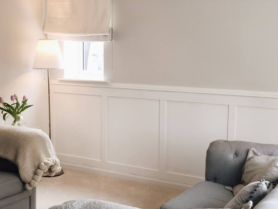 DIY Georgian style panelling for under £40 | The Willis Home