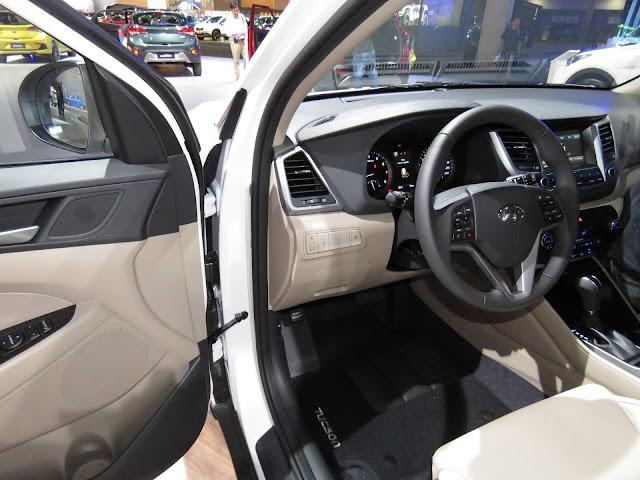 Hyundai New Tucson 2017 - interior