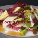 Ensalada vegetal con frutas