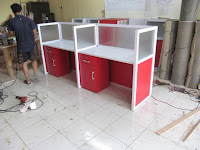 Cubicle Table - Furniture Kantor Semarang