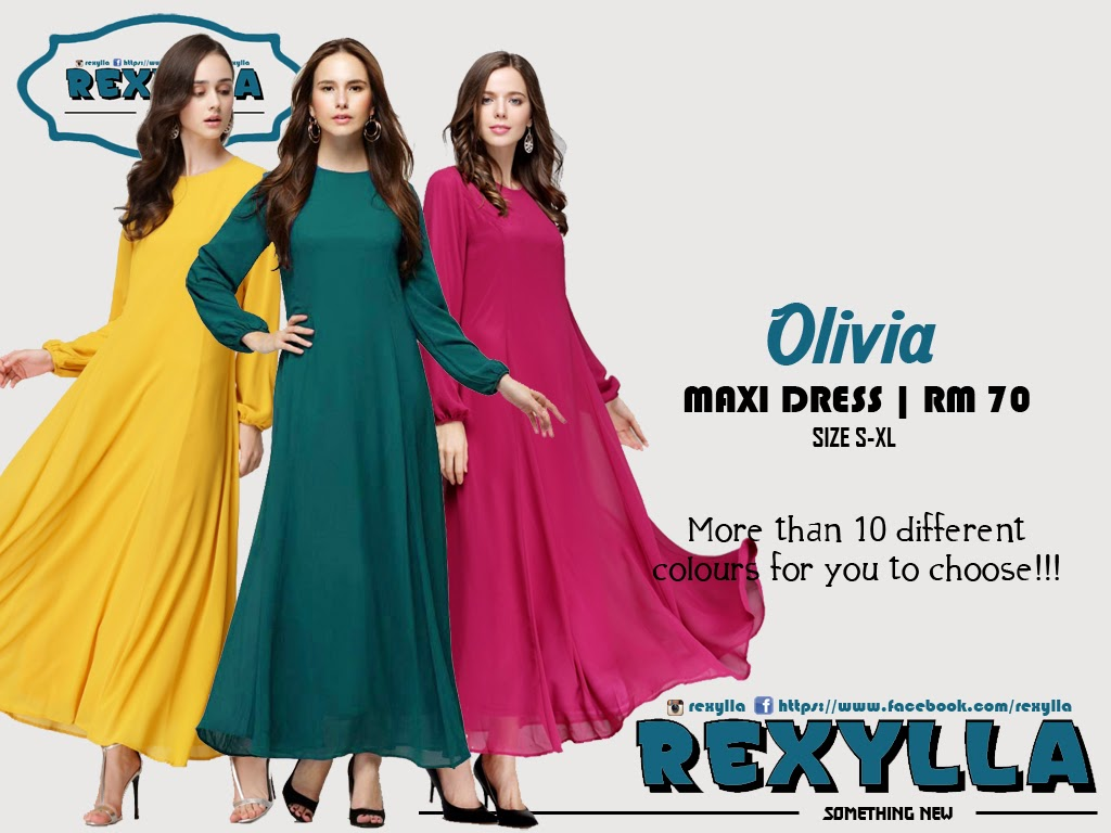 rexylla, princess cut flare, maxi dress, olivia collection