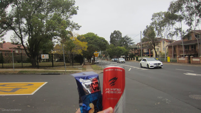 Snacks from Aldi in Wentworthville