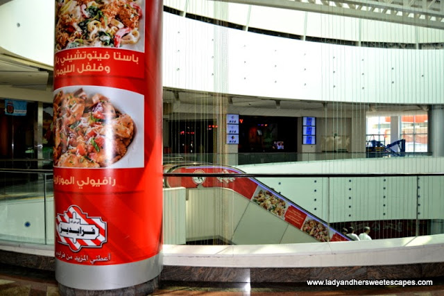TGIFridays advertisements in Dubai Festival City