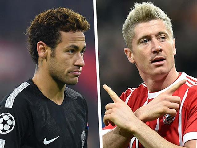"""Nóng: Neymar họp kín với Lewandowski, """"bom tấn đôi"""" về Real 1"""