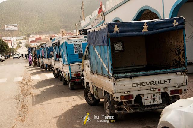 Hondas en Sidi-Ifni, Marruecos