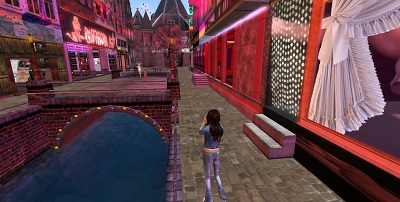 Virtual sex in second life