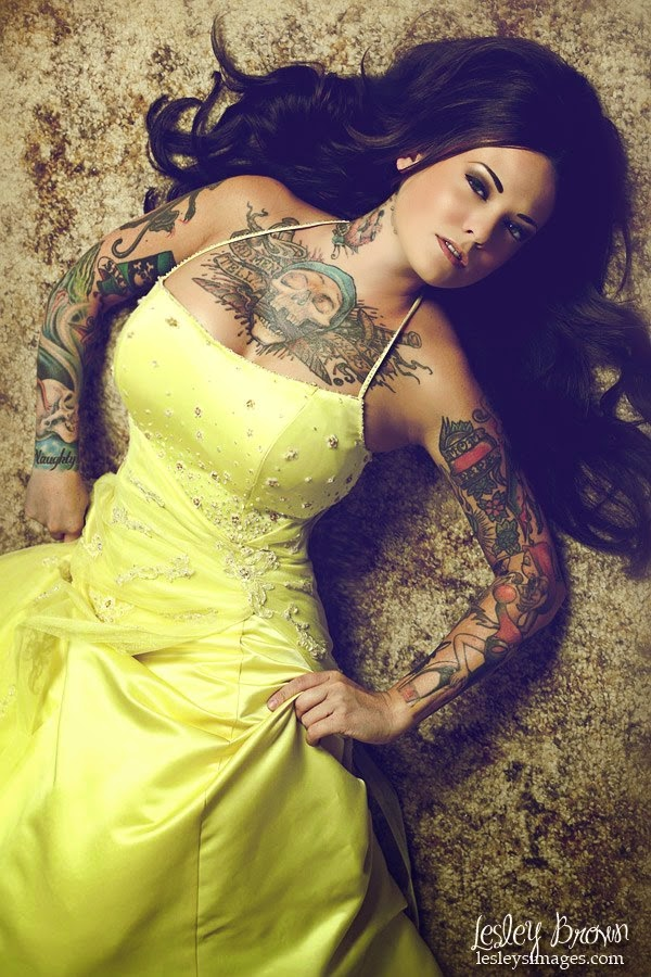 Amina Munster Sexy Tattooed Girls