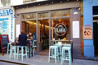 Nos Adresses : Filakia, les sandwiches grecs souvlakis au délicat parfum de Méditerranée - Paris 2