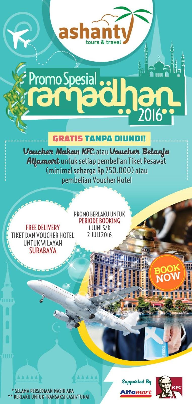 promo jual tiket pesawat online dan voucher hotel surabaya