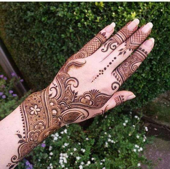 Bridal Mehandi Designs for Hands 10