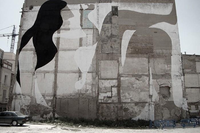 Фотографии работ уличного художника. Sam3 11