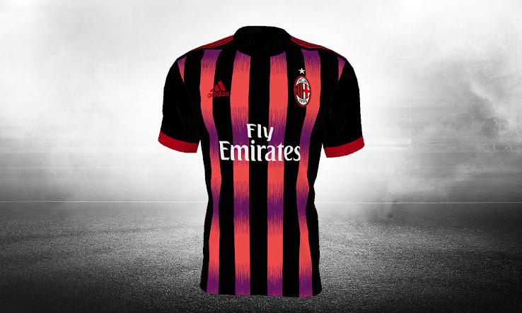 Top 100 terceras equipaciones AC Milan 2017-18 desveladas - Footy ... 26f121196a40f