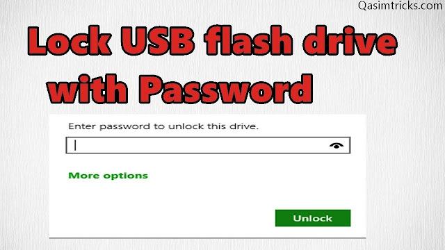 Lock your usb flash drive with password easily - qasimtricks.com