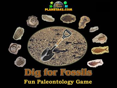 Разкопки за Вкаменелости Онлайн Игра