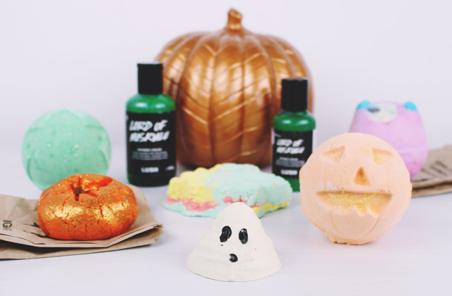 Lush Halloween 2016 Collection Products