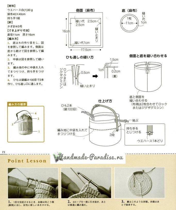 Схема обвязки крючком мешочка (1)