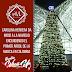Carolina Herrera da inicio a la Navidad encendiendo el primer árbol de la marca en Colombia