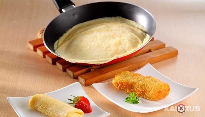 Resep cara membuat kulit risoles tanpa telur