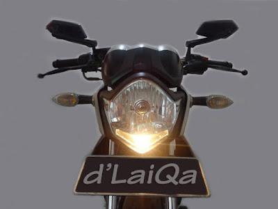 Yamaha V-ixion - Lampu Depan Mati