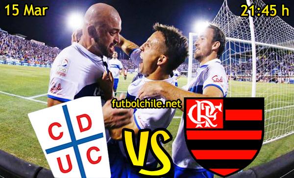 Ver stream hd youtube facebook movil android ios iphone table ipad windows mac linux resultado en vivo, online: Universidad Católica vs Flamengo
