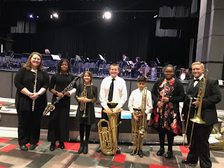 Montgomery Catholic Sixth Grade Students Play in Alabama Winds Concert 1