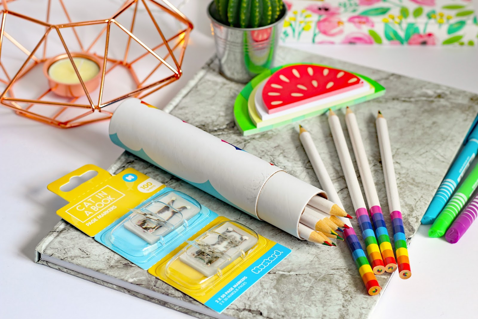 Why I Love Stationery And How It Benefits My Mental Health national stationery week notebooks gifts cute funky cool cheep mustard gifts pens paper