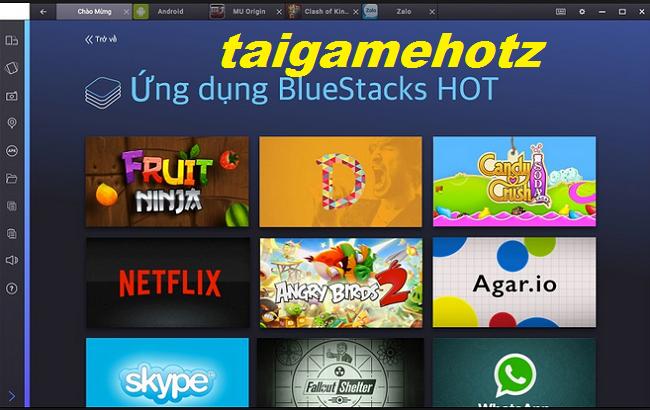 Tải BlueStacks 1 ,2, 3 - Phần mềm giả lập Android trên PC tốt nhất 6