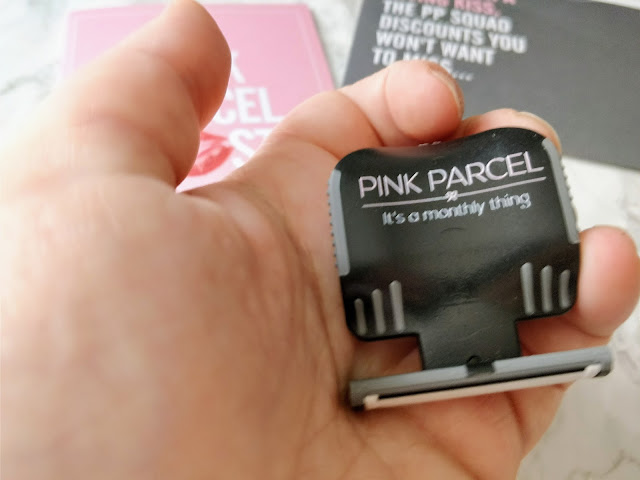 Pink Parcel Evoshave Handheld Razor