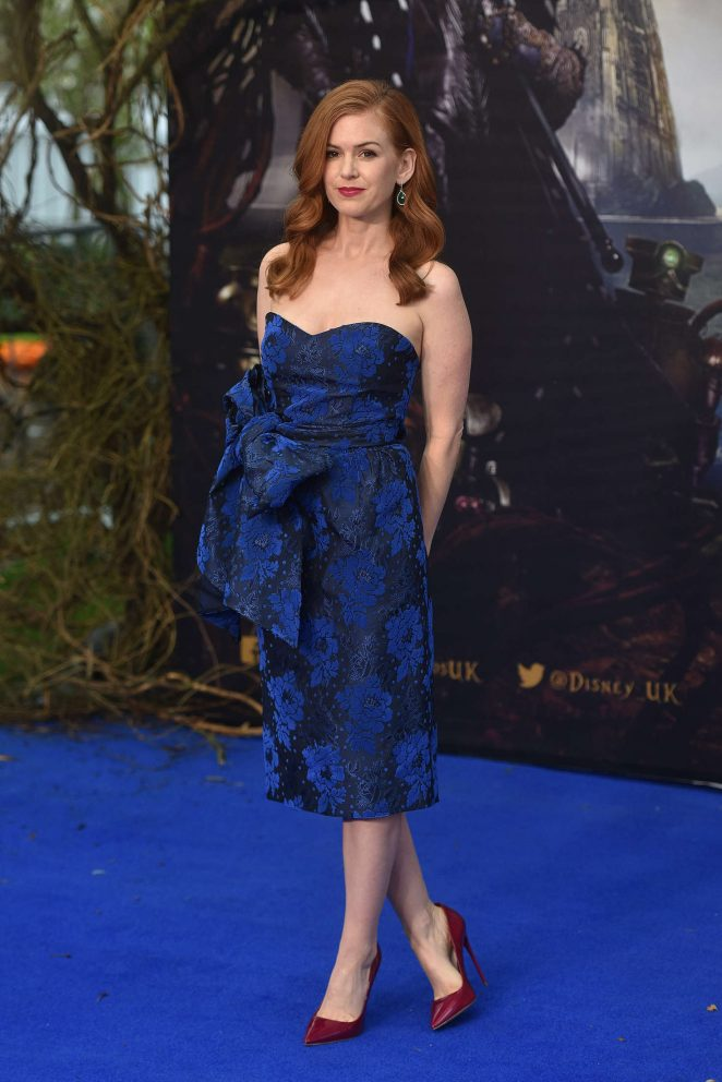 Isla Fisher – 'Alice Through The Looking Glass' Premiere in London