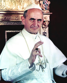 Pope Paul VI, who beatified Romano in 1963