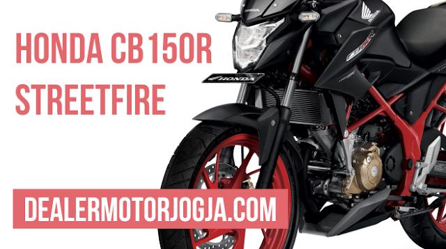 Harga Promo Terbaru Honda CB150R StreetFire Agustus 2016 untuk Wilayah Jogja dan Sekitarnya