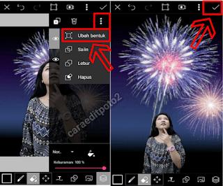 Cara edit foto tahun baru